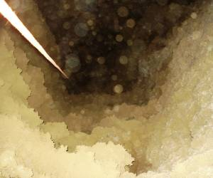 تصاویری از غار اشکف -0