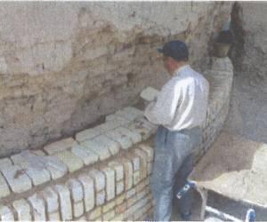 مراحل بازسازی برج کبوتر جوی آباددردهه 1380-3