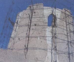 مراحل بازسازی برج کبوتر جوی آباددردهه 1380-12