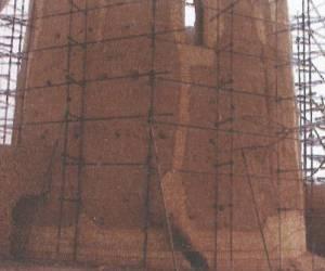 مراحل بازسازی برج کبوتر جوی آباددردهه 1380-13