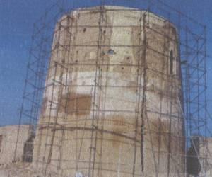 مراحل بازسازی برج کبوتر جوی آباددردهه 1380-14