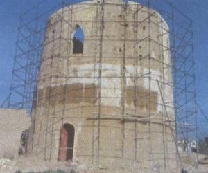 مراحل بازسازی برج کبوتر جوی آباددردهه 1380-15