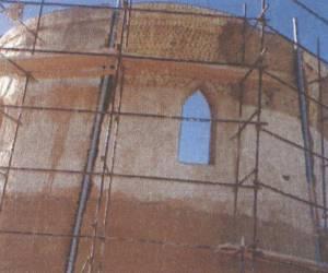 مراحل بازسازی برج کبوتر جوی آباددردهه 1380-16
