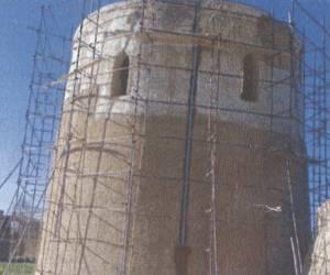 مراحل بازسازی برج کبوتر جوی آباددردهه 1380-17