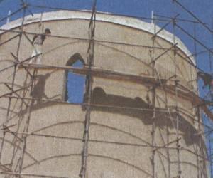 مراحل بازسازی برج کبوتر جوی آباددردهه 1380-19