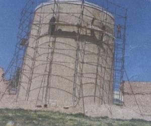 مراحل بازسازی برج کبوتر جوی آباددردهه 1380-20