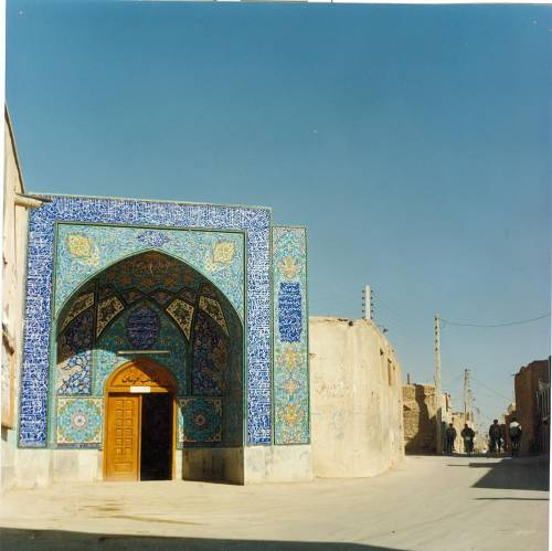 مرمت مسجد جامع خوزان خمینی شهر