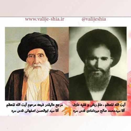 آیت الله حاج سید صالح میردامادی